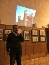 Презентация в музее Огни Москвы